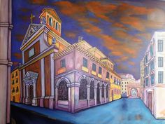 Maravillas de Malasaña  Oil on canvas 116 x 81 cm