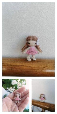 Amigurumi Pink Little Layd Free Pattern – Amigurumi Free Patterns And Tutorials Amigurumi Patterns, Amigurumi Doll, Free Crochet, Crochet Hats, 4 Ply Yarn, Hair Cover, Mohair Yarn, Hello Dear