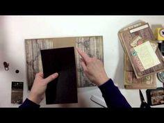Vertical Paper Bag Mini Album Series Part 5 - Decorating the Cover