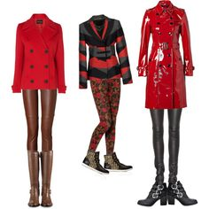 """""""Red Coats"""" by telley-m-jay on Polyvore"""