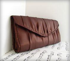 Satin Clutch purse