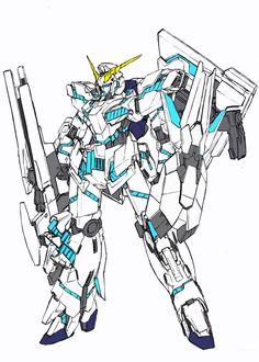 Gundam Art, Custom Gundam, Neutral Color Scheme, Mecha Anime, Sci Fi Characters, Mechanical Design, Gundam Model, Machine Design, Mobile Suit