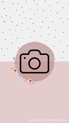 Bella T Shirts, Camera Drawing, Insta Icon, Instagram Story Template, Instagram Highlight Icons, Story Highlights, Flower Frame, Insta Story, Overlays