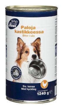 ✔ REAL DOG 1240g Kana - Koiran ruoat - Tokmanni