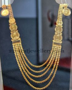 floral-coin necklace set