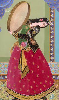 Persian Calligraphy, Calligraphy Art, Persian Culture, Iranian Art, Mandala Drawing, Color Pencil Art, Painting Lessons, Islamic Art, Lovers Art