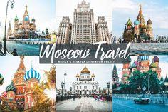Mobile and Desktop Lightroom Preset Moscow Travel Vintage Lightroom Presets, Best Free Lightroom Presets, Adobe Photoshop Lightroom, Lightroom Tutorial, Photo Effects, Photography, Travel, Desktop, Instagram