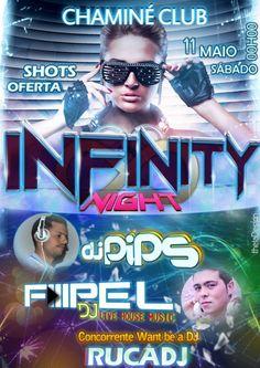 Infinity Night na Chaminé Club