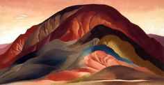 Georgia O'Keeffe - Rust Red Hills, 1934