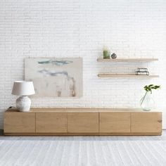 mueble tv – composicion – mobiliario – salon – kenayhome – Anime pictures to hairstyles Tv Unit Design, Tv Wall Design, Living Room Tv, Home And Living, Tv Wall Cabinets, Muebles Living, Tv Furniture, Living Room Designs, Interior Design