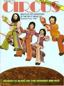 Circus Magazine. October 1969