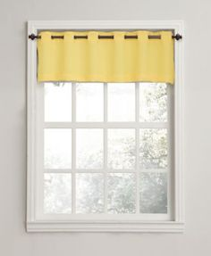 "Lichtenberg No. 918 Montego 56"" x 14"" Grommet Curtain Valance, Only at Macy's  | macys.com"