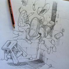 Just sketching... #cheo #sketch