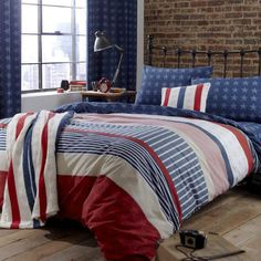 Catherine Lansfield Home Stars And Stripes Fitted Sheet, Multi, Single Listing in the Linen,Bedroom,Home & Garden Category on eBid United Kingdom