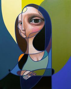 Post Neo Cubism: Paintings & Murals by Belin | Inspiration Grid | Design Inspiration