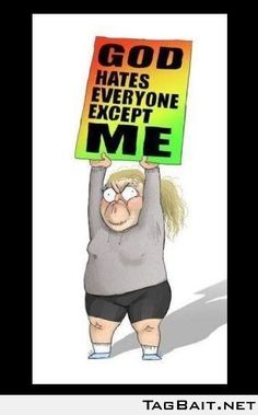 Westboro Baptist Church sign translation. Shouldn't have laughed, but i did..