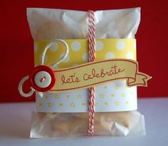 wrap gifts, treat bags, gift wrapping, gift ideas, wrapping gifts, cooki, diy gifts, handmade gifts, hand made