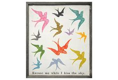 Excuse Me While I Kiss The Sky on OneKingsLane.com