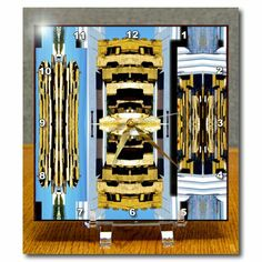 dc_39138_1 Jos Fauxtographee Abstract - Wooden Pallets Near a White Building Mirrored and Stacked - Desk Clocks - 6x6 Desk Clock Jodie Fauxtographee,http://www.amazon.com/dp/B0076B6GO0/ref=cm_sw_r_pi_dp_s8Astb0Y7V2Q3DPD
