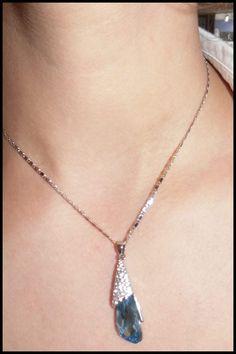 Colgante Cristal Swarovski plata 925 aleación de platino $27.990