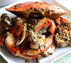 Crustacean's-Inspired Roasted Garlic Crab