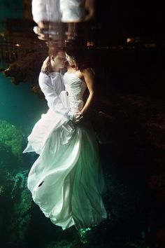 One of the most magical and romantic Trash The Dress photo shoots I have ever seen