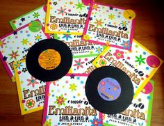 ¿Qué les parece esta espectacular representación de un LP como invitación para la celebración de los 60 años de Emilianita? http://www.facebook.com/crpentinas