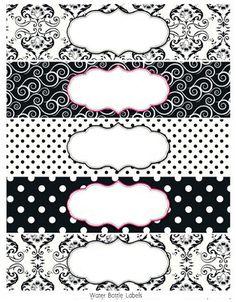 white-and-black-damask-free-printables-003.jpg 425×544 píxeles