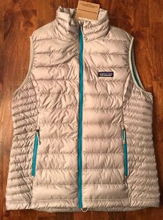 Patagonia Down Sweater Vest  sz S NWT$179 DRIFTER GREY Women's in Clothing, Shoes & Accessories, Women's Clothing, Coats & Jackets | eBay