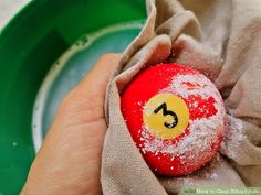 How to Clean Billiard Balls: 7 Steps (with Pictures) - wikiHow Diy Pool Table, Pool Table Room, Pool Table Lighting, Basement Bar Designs, Home Bar Designs, Basement Ideas, Billards Room, Play Pool, Pool Games
