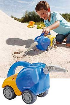 This durable little wonder can be a ''tanker truck,'' ''gas can,'' ''watering can,'' and more! Multi-Purpose Thingamajig, Chinaberry.com