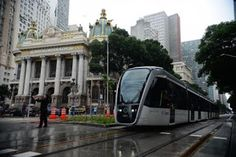 Pregopontocom Tudo: Bonde volta ao centro do Rio meio século depois na versão VLT...