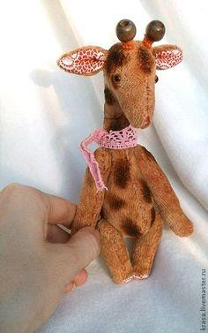 жирафик Оливер - жираф,жирафик,жирафа,игрушка жираф,жирафы,друзья тедди