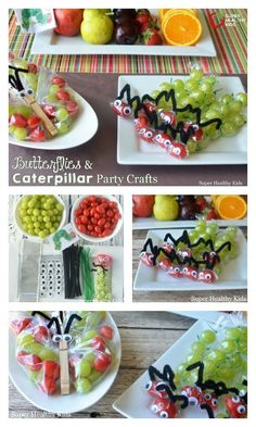 Butterflies and Caterpillar Party Favors & Craft - The Very Hungry Caterpillar! Love this book, and these crafts! http://www.superhealthykids.com/butterflies-and-caterpillar-party-favors-or-craft/