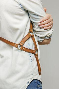 Handgemachte Mode Kabelbaum Dreieck an den Seiten