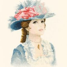 Maria Cross Stitch Kit from Heritage Crafts from Cross Stitch Angels, Cross Stitch Kits, Counted Cross Stitch Patterns, Cross Stitch Charts, Cross Stitch Embroidery, Lady Maria, John Clayton, Heritage Crafts, Cross Stitch Finishing