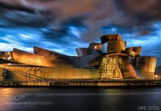 Guggenheim Bilbao by desdunsullsdedona #architecture #building #architexture #city #buildings #skyscraper #urban #design #minimal #cities #town #street #art #arts #architecturelovers #abstract #photooftheday #amazing #picoftheday
