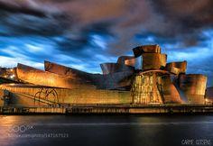 Guggenheim Bilbao by desdunsullsdedona #architecture #building #architexture #city #buildings #skyscraper #urban #design #minimal #cities #town #street #art #arts #architecturelovers #abstract #photooftheday #amazing #picoftheday