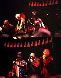 Drahdiwaberl ist eine politisch orientierte Band, die 1969 in Österreich von Stefan Weber gegründet wurde.