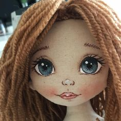 1 million+ Stunning Free Images to Use Anywhere Diy Rag Dolls, Sewing Dolls, Doll Face Paint, Doll Painting, Baby Nap Mats, Art Studio Storage, Doll Makeup, Fabric Toys, Doll Eyes