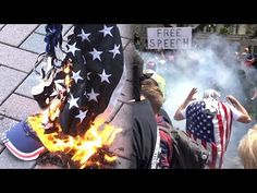 ANTIFA EXPOSED AS VIOLENT (Political Social Experiment) - Berkeley Trump Rally Protest - YouTube