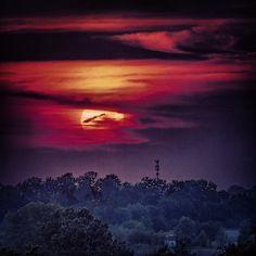 Beautiful Kansas sunset, August, 2013, south Overland Park, KS. (Taken by Ted Schmidt, Olathe KS)