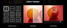 Split Pic | Easy Tiger Apps - Fondre 2 photos en une et réaliser des montages aberrants. Belle app !