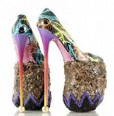 Kunst: schoenen gemaakt van olifantenpoep - Schoenvisie