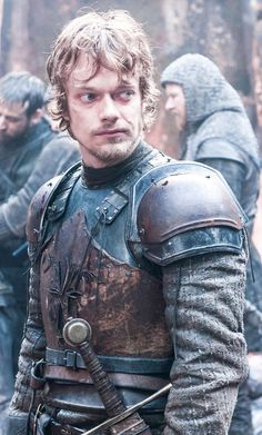 Pin for Later: 450 Pop Culture Halloween Costume Ideas Theon Greyjoy/Reek From Game of Thrones  What to wear: Fake armor and dark-colored clothing.  How to act: Unsure about yourself ever since you lost an important part of yourself.