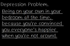 It isn't ana but depression lead me to become pro-ana. I don't know whether that's good or not :/