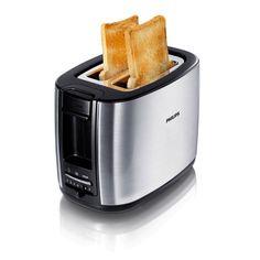Philips Toaster 950 W, Plata, 220 - Tostadora: Amazon.es: Hogar