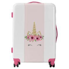 Unicorn Luggage Suitcase Gift