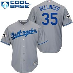 0d707d352 Dodgers  35 Cody Bellinger Grey Cool Base 2017 World Series Bound Stitched  Youth MLB Jersey