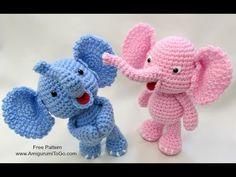 Crochet Along Elephant - Sharon Ojala